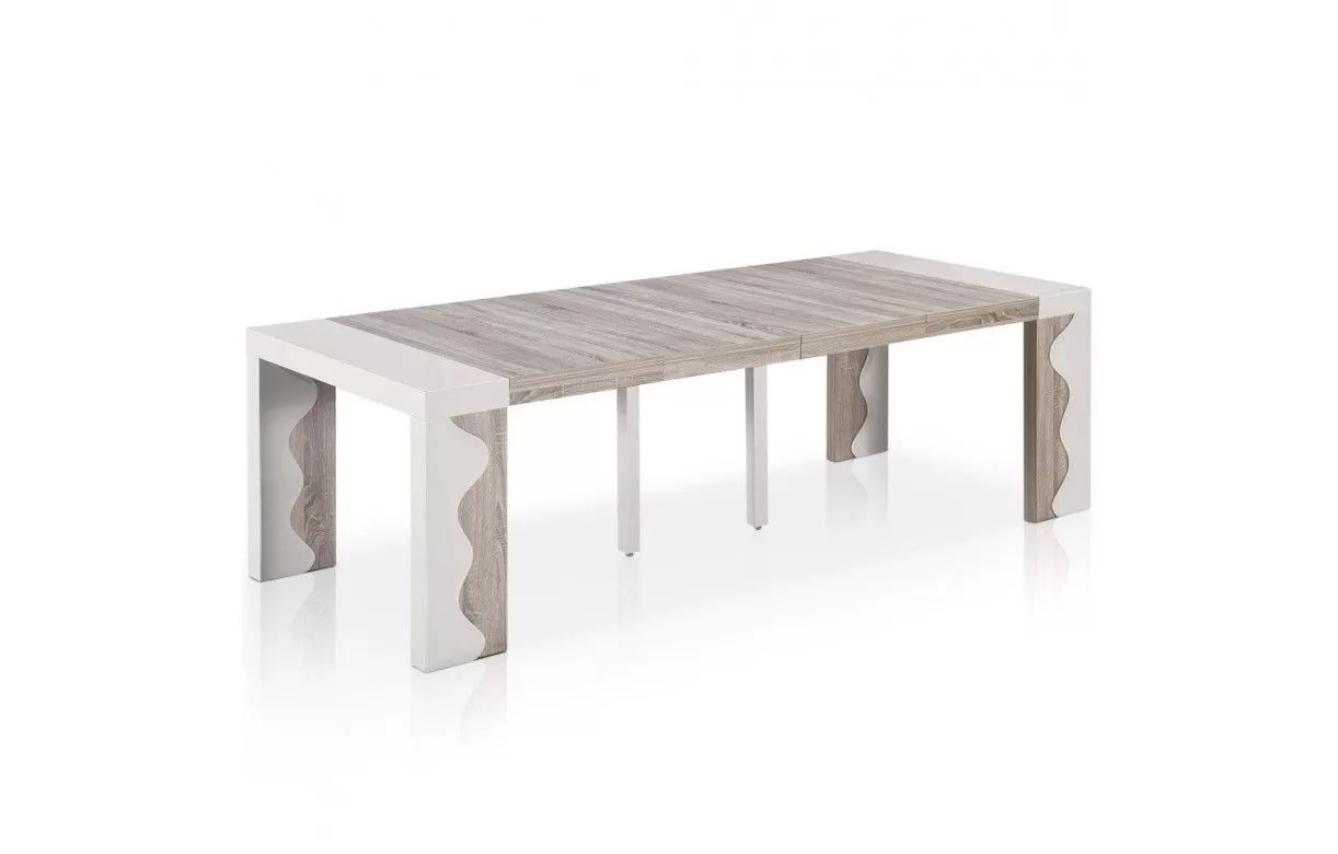 table console extensible 12 couverts