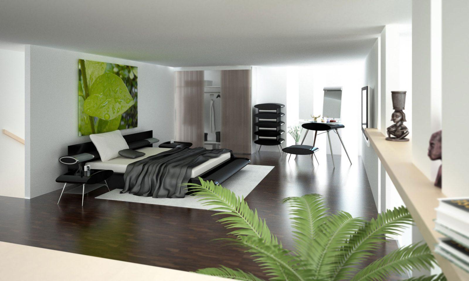 Habitaciones modernas minimalistas  Imgenes y fotos