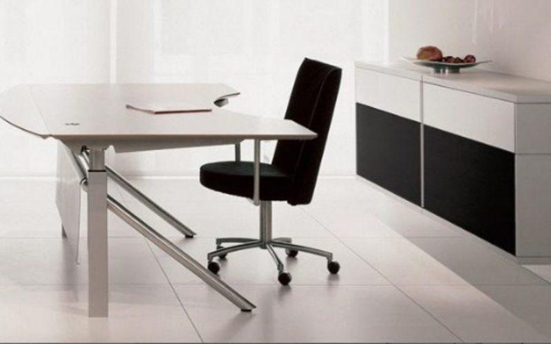 Mesa y silla de oficina modernas  Imgenes y fotos