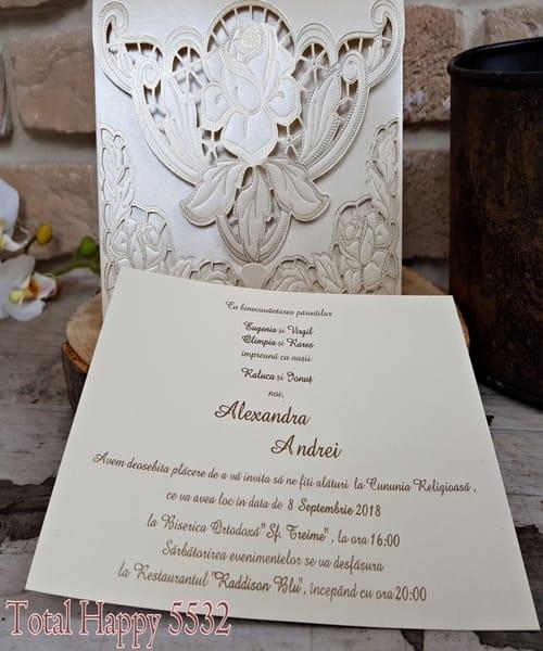 Invitatie de nunta cod 5532 din Catalogul Concept