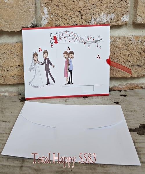Invitatie de nunta cod 5583 din Catalogul Concept