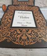 Invitatie de nunta cod 2770 din Catalogul Popular