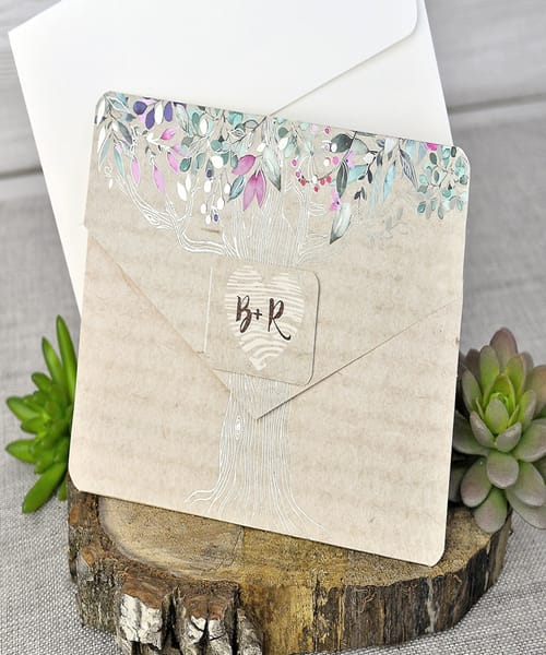 Invitatie de nunta cod 39303 din Catalogul Emma
