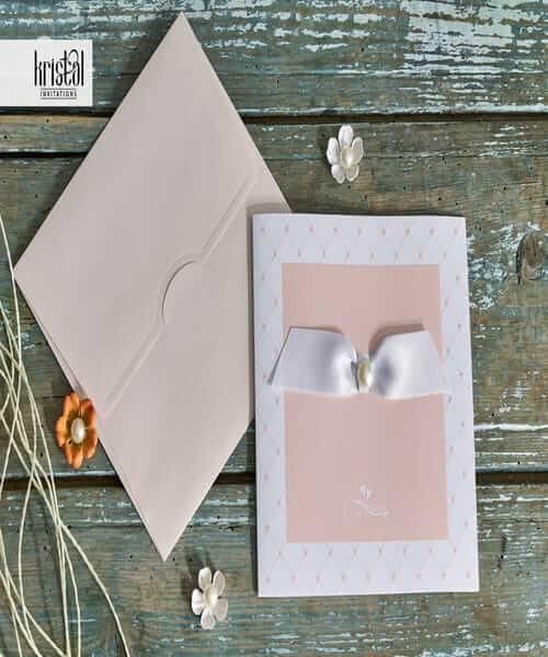 Invitatie de nunta cod 70285 din Catalogul Kristal Boutique
