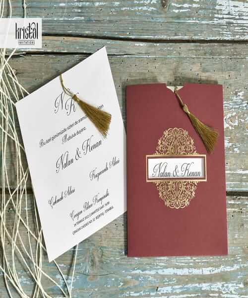 Invitatie de nunta cod 70308 din Catalogul Kristal Boutique