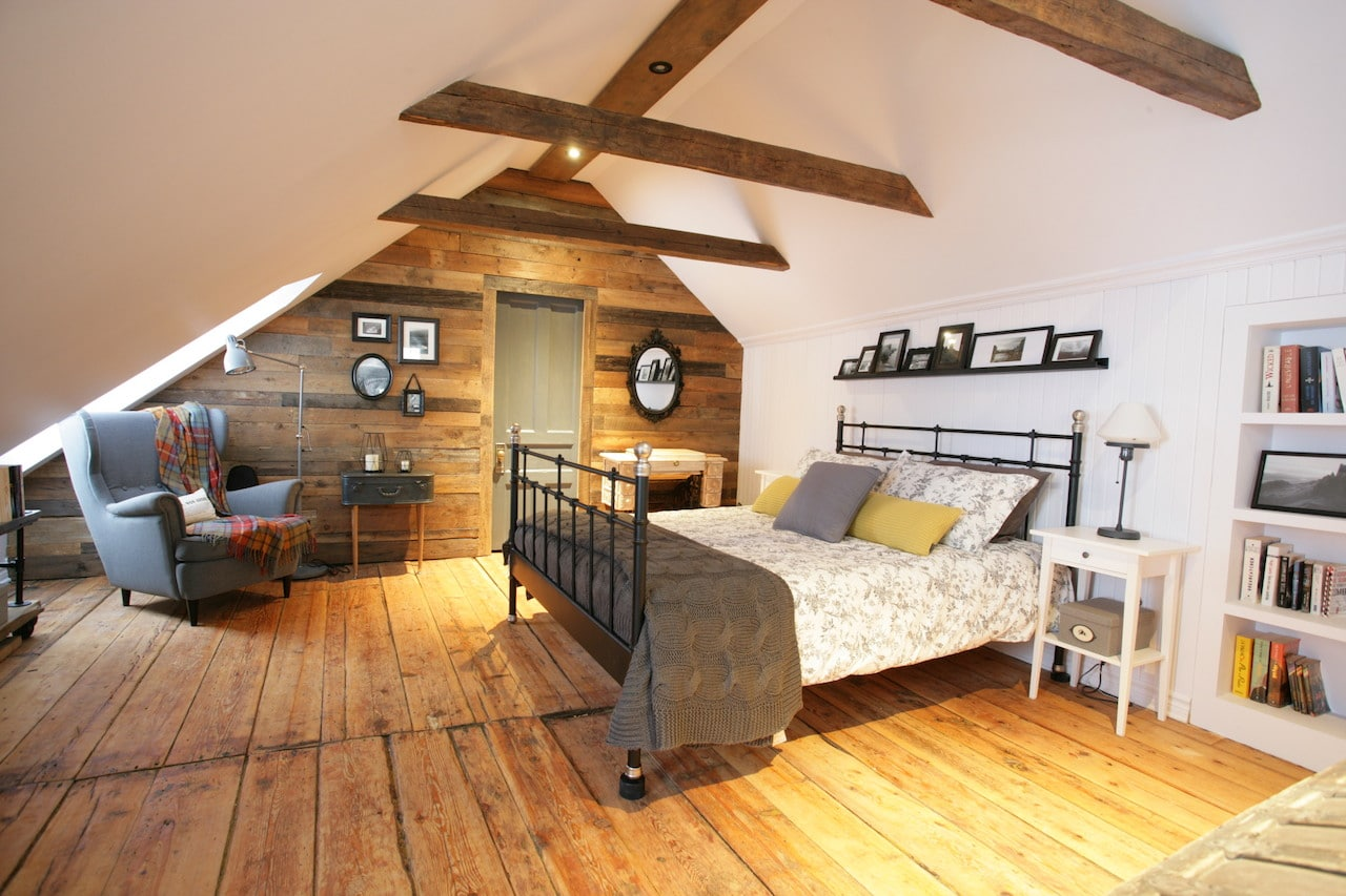 La chambre mansarde dune maison canadienne ancestrale  Dconome