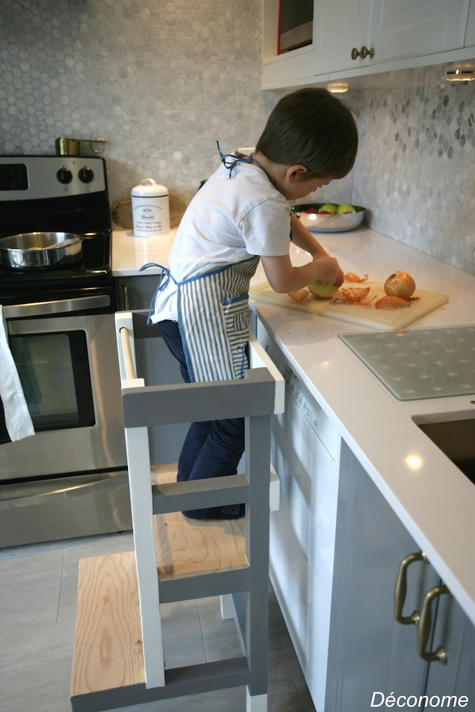 plan de travail cuisine pliable
