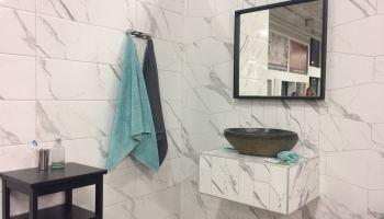 Carreler Un Meuble Lavabo Pour Une Salle De Bain Unique