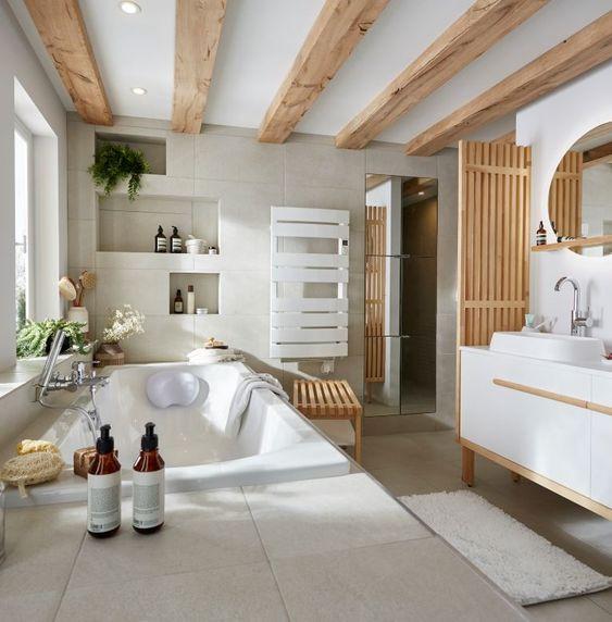 8 Conseils Pour Creer Une Salle De Bain Ouverte Sur La Chambre Deconome