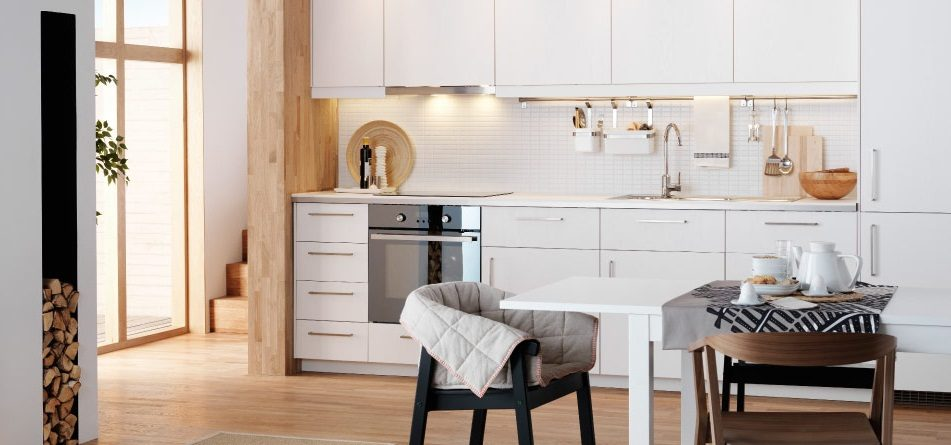 Decoracin nrdica con muebles Ikea