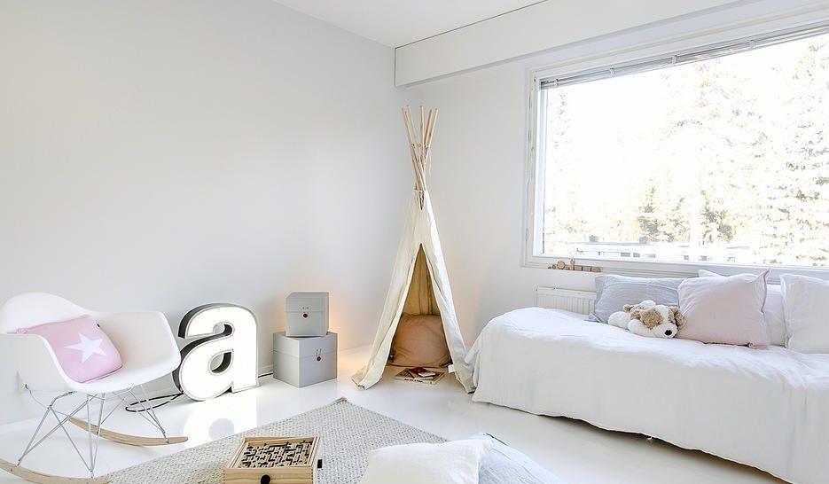 Resultado de imagen de imagenes de habitaciones infantiles estilo nordico