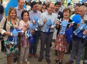 LOS MINISTROS DEL COMITE DE AGUAS SUSCRIBIERON UNA SERIE DE COMPROMISOS