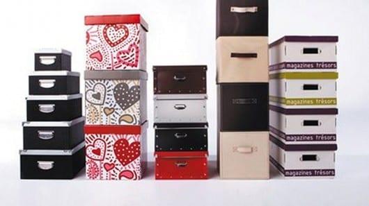 Cajas para decorar y ordenar tu armario