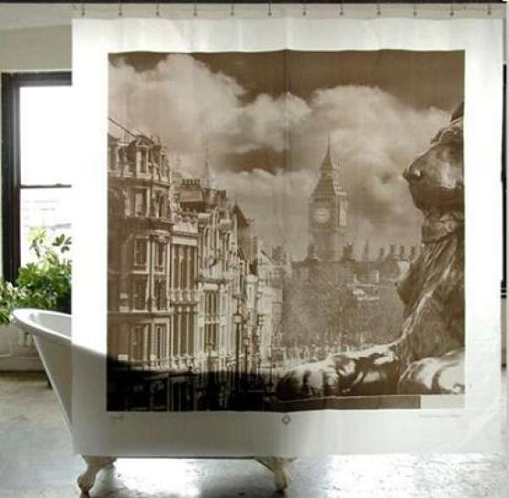 Cortinas de ducha de diseño