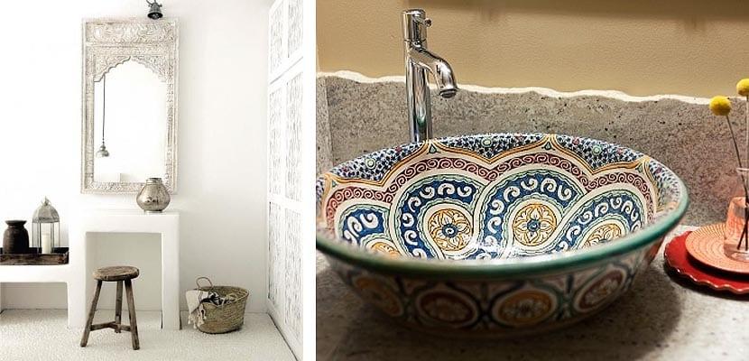 Como decorar cartos de bao con estilo marroqu