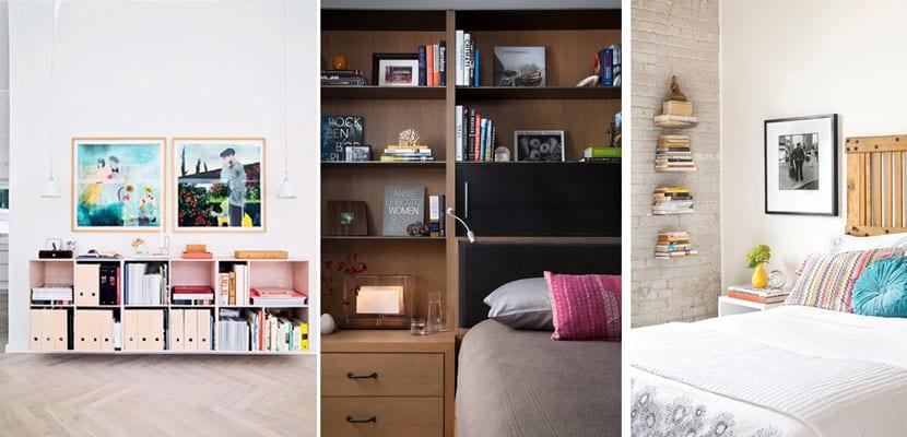 Libreras y estanteras para tus libros en el dormitorio