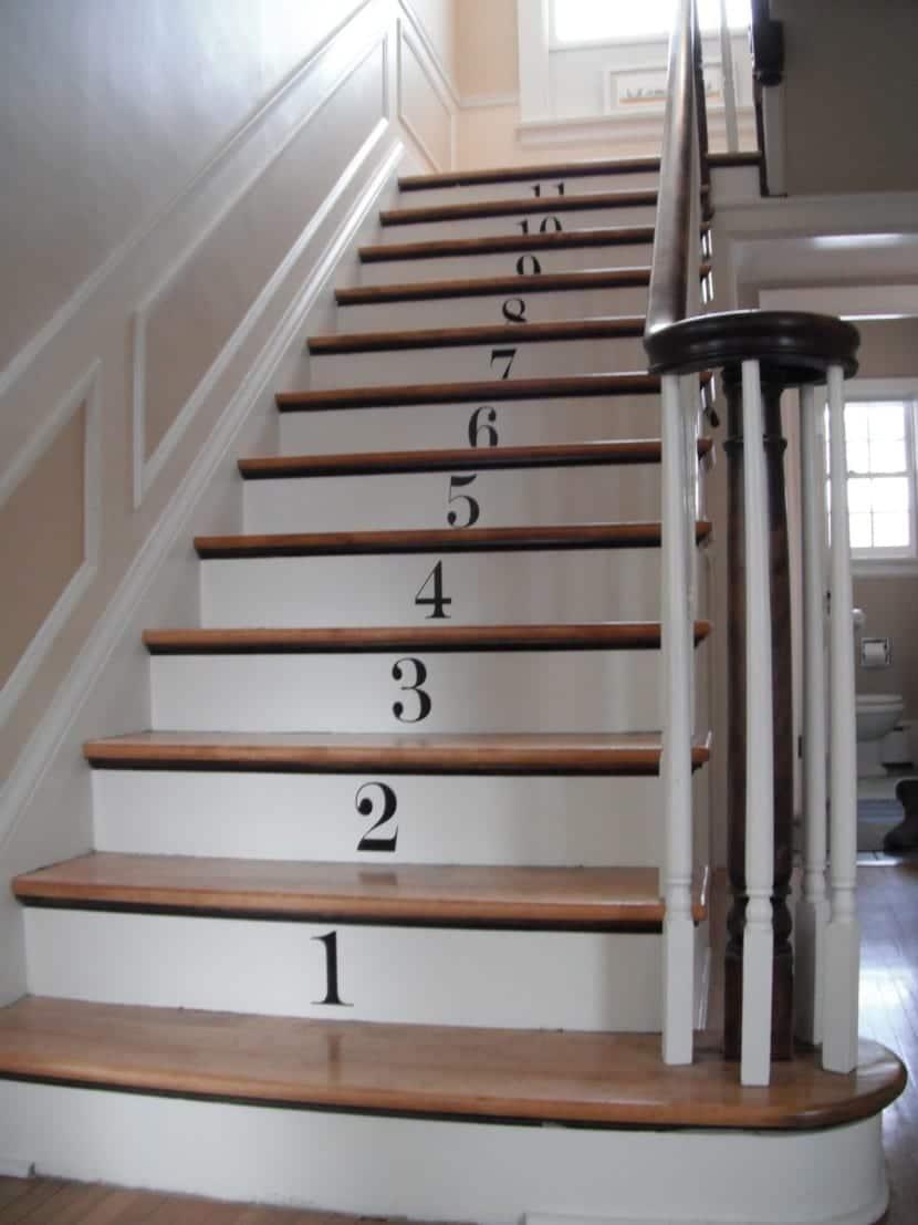 Ideas originales para actualizar las escaleras
