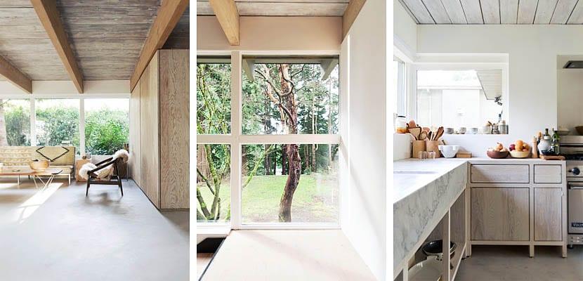 Una casa rstica y moderna en North Vancouver