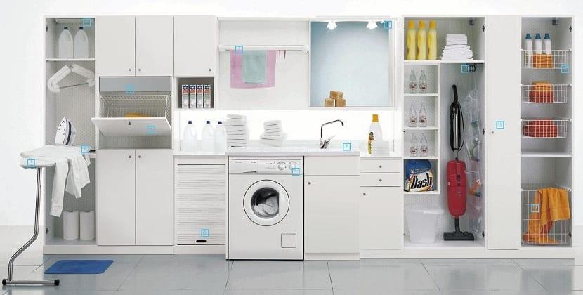 Consejos para organizar el lavadero de tu hogar