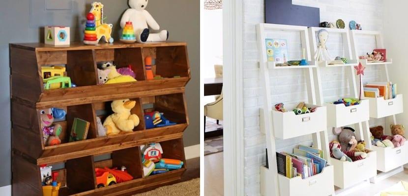 Ideas para organizar los juguetes