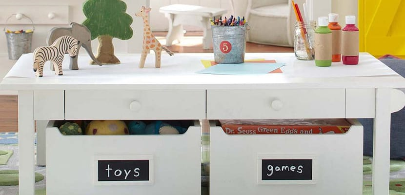 Ideas de almacenaje para los juguetes