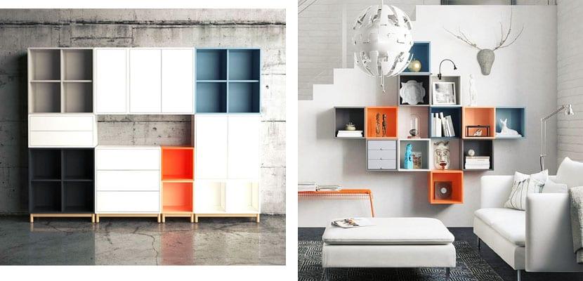 Estanteras de Ikea para decorar y organizar tu casa