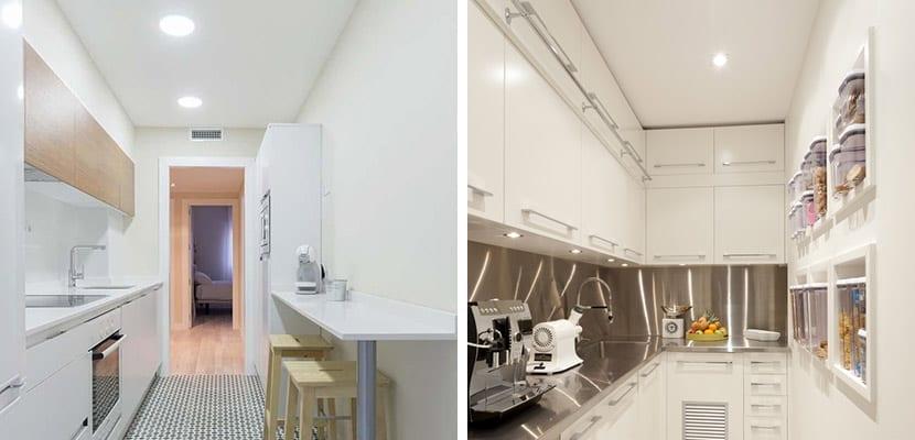 Cmo decorar las cocinas pequeas alargadas