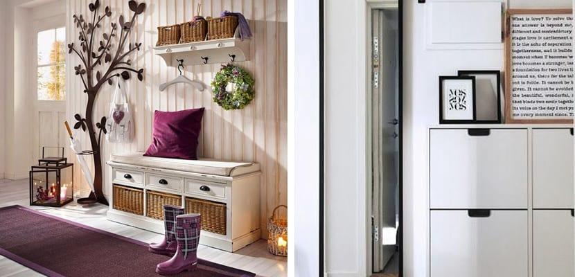 Ideas y trucos para decorar recibidores pequeos