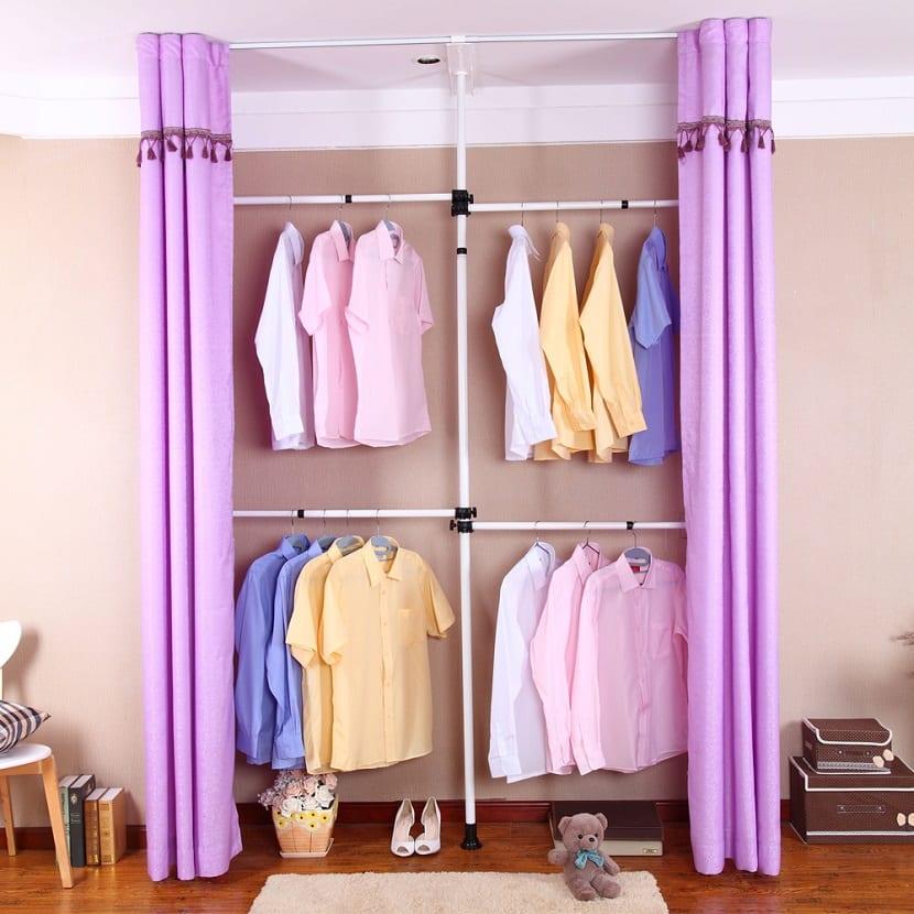 Las ventajas de los armarios de tela en tu hogar
