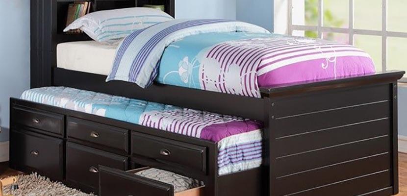Camas nido ideas prcticas para el dormitorio