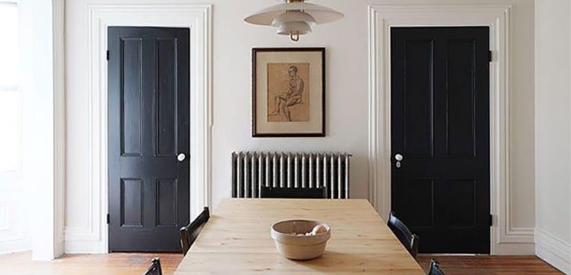 Descubre cmo pintar una puerta de madera en casa