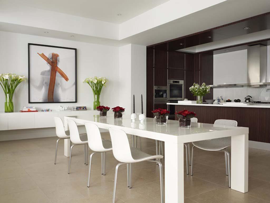Cocina office minimalista  Imgenes y fotos