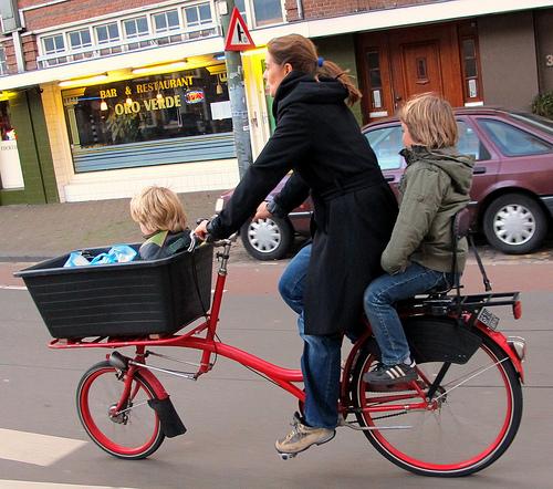 bici1 Mamás del mundo Estilo de vida holandés