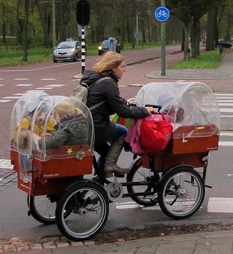 bici2 Mamás del mundo Estilo de vida holandés