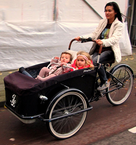 bici4 Mamás del mundo Estilo de vida holandés