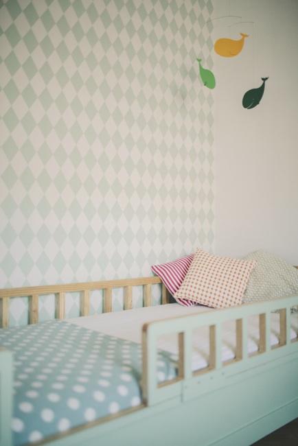 10 Habitaciones infantiles con Papel Pintado  DecoPeques