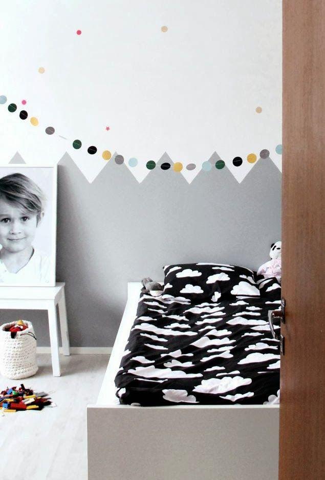 Jugando con los colores 8 habitaciones infantiles decoradas con pintura  DecoPeques