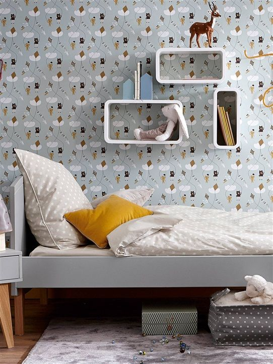 10 Dormitorios infantiles ideales en tonos grises  DecoPeques