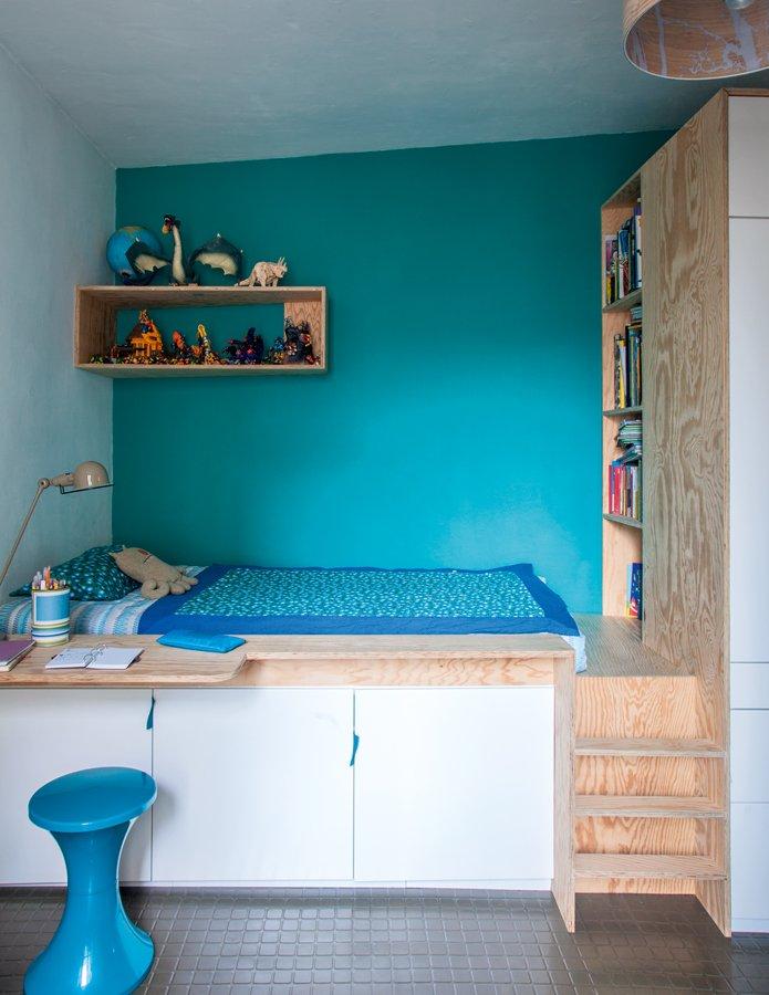 Habitaciones infantiles en azul para nios