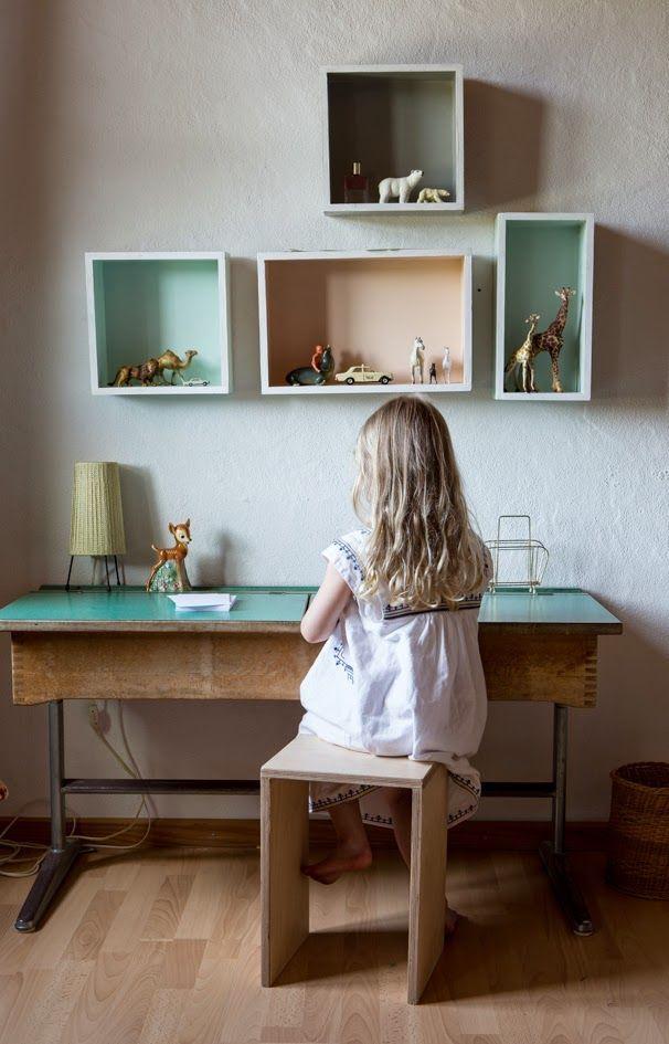 Mesas de estudio vintage