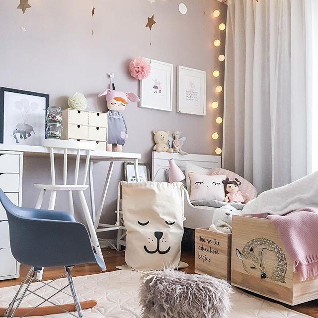 Inspiracin Instagram cuarto infantil escandinavo para
