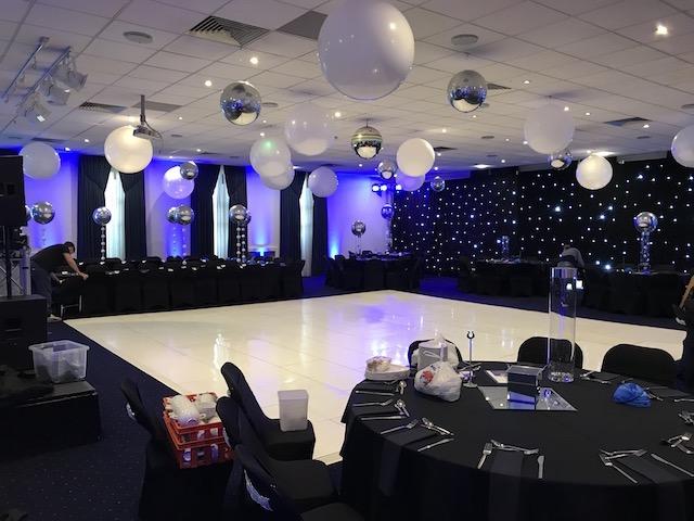 Gloss White Dance Floor
