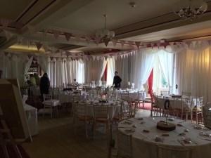 Wedding & Event White Pleated Drape Hire