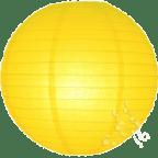 Yellow Hanging Lanterns