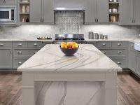 17 Quartz Kitchen Countertop Looks Like White Marble