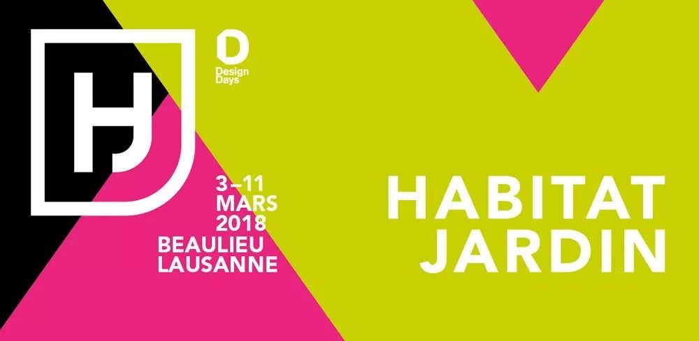 Salon habitat jardin  Lausanne en Suisse du 3 au 11 mars  Decor facade