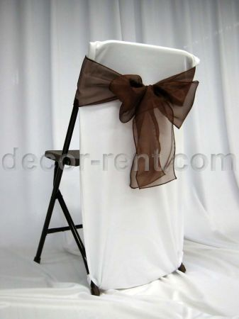 DECORRENTCOM  Folding Chair Back Cover White with