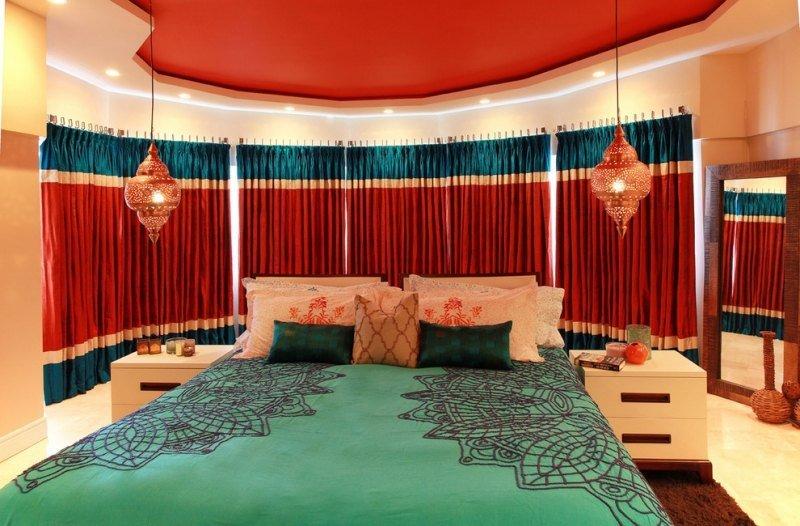 Modles de literie marocaine design traditionnel  Dcor salon marocain