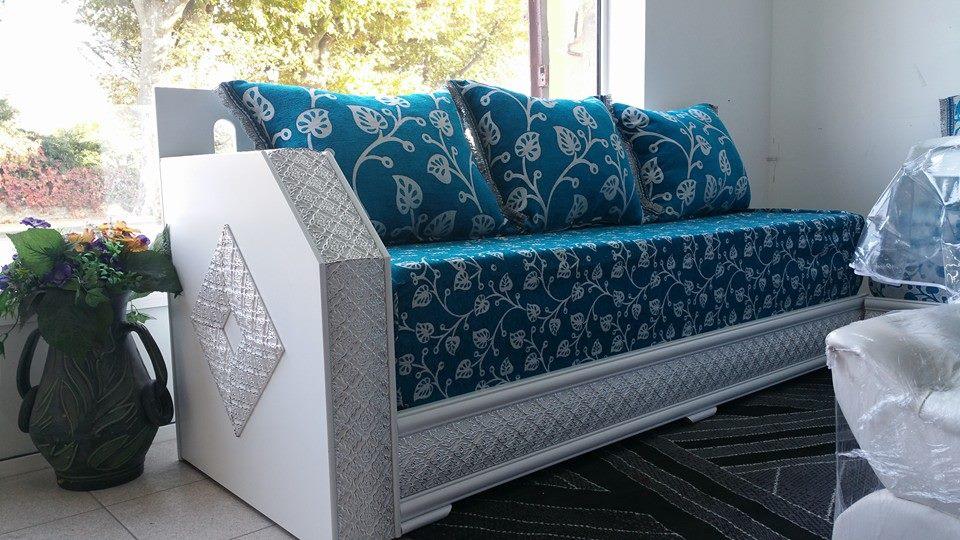 Excellent meuble pour amnager le salon marocain  Dcor salon marocain