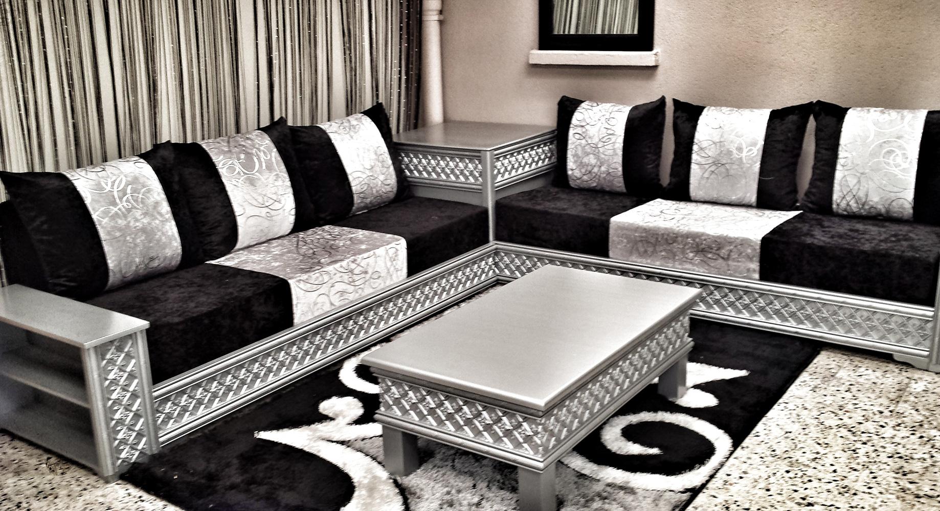 decor salon marocain